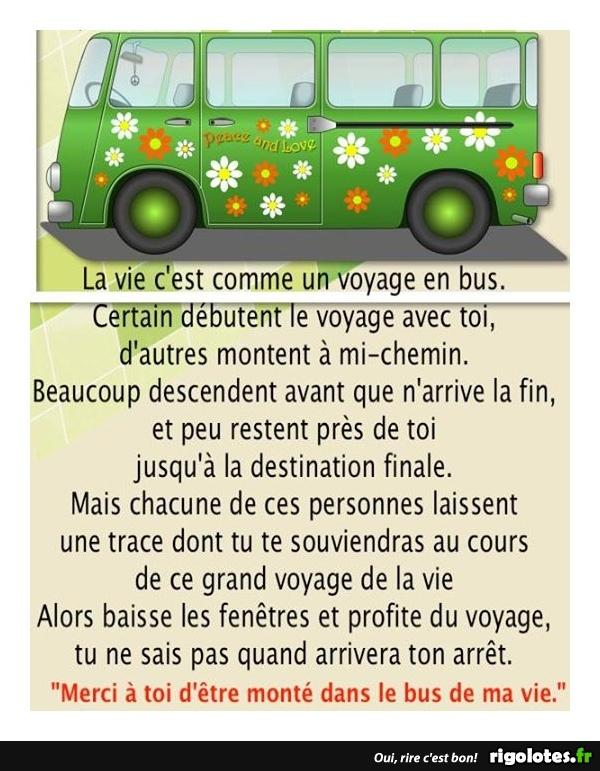 HUMOUR et Vérité : La vie c'est comme un voyage en bus 20170620